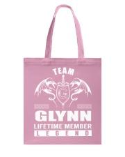 Team GLYNN Lifetime Member - Name Shirts Tote Bag thumbnail