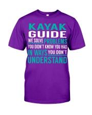 Kayak Guide - Solve Problems Job Shirts Classic T-Shirt thumbnail