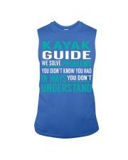 Kayak Guide - Solve Problems Job Shirts Sleeveless Tee thumbnail