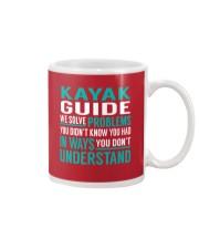 Kayak Guide - Solve Problems Job Shirts Mug thumbnail