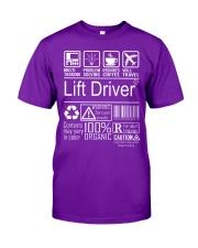 Lift Driver Classic T-Shirt thumbnail
