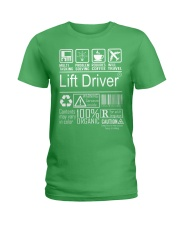 Lift Driver Ladies T-Shirt thumbnail