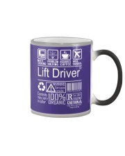 Lift Driver Color Changing Mug thumbnail