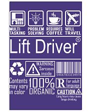 Lift Driver Vertical Poster tile