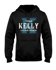 Team KELLY - Lifetime Member Hooded Sweatshirt front