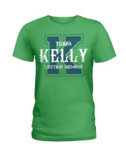 Team KELLY - Lifetime Member Ladies T-Shirt thumbnail
