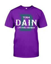 Team DAIN - Lifetime Member Classic T-Shirt thumbnail