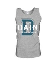 Team DAIN - Lifetime Member Unisex Tank thumbnail