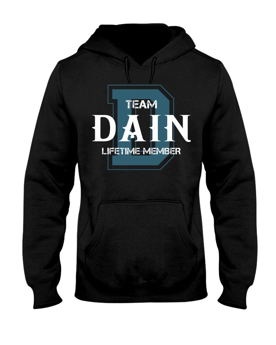 Team DAIN - Lifetime Member Hooded Sweatshirt