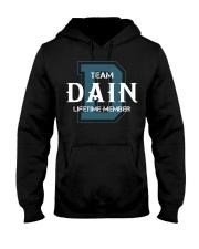 Team DAIN - Lifetime Member Hooded Sweatshirt front