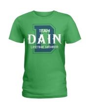 Team DAIN - Lifetime Member Ladies T-Shirt thumbnail