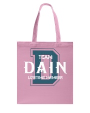 Team DAIN - Lifetime Member Tote Bag thumbnail