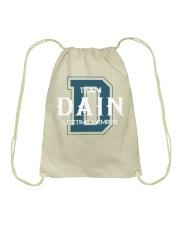 Team DAIN - Lifetime Member Drawstring Bag thumbnail