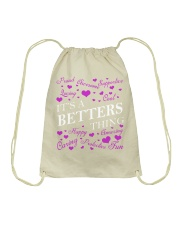 Its a BETTERS Thing - Name Shirts Drawstring Bag tile