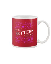 Its a BETTERS Thing - Name Shirts Mug tile