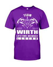 Team WIRTH Lifetime Member - Name Shirts Classic T-Shirt thumbnail