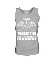 Team WIRTH Lifetime Member - Name Shirts Unisex Tank thumbnail