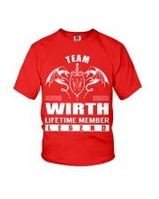 Team WIRTH Lifetime Member - Name Shirts Youth T-Shirt thumbnail