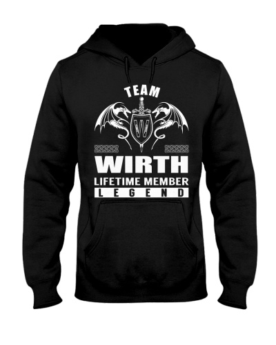Team WIRTH Lifetime Member - Name Shirts