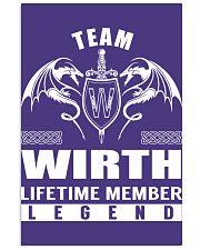 Team WIRTH Lifetime Member - Name Shirts 11x17 Poster thumbnail