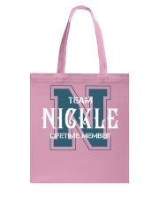 Team NICKLE - Lifetime Member Tote Bag thumbnail