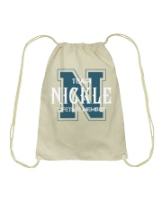 Team NICKLE - Lifetime Member Drawstring Bag thumbnail