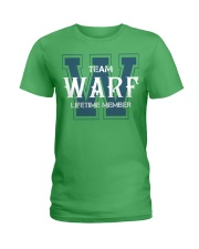 Team WARF - Lifetime Member Ladies T-Shirt thumbnail
