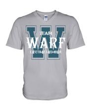 Team WARF - Lifetime Member V-Neck T-Shirt thumbnail