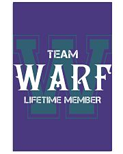 Team WARF - Lifetime Member 11x17 Poster thumbnail