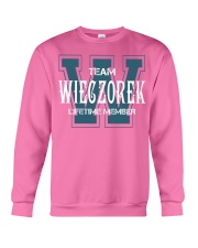 Team WIECZOREK - Lifetime Member Crewneck Sweatshirt thumbnail