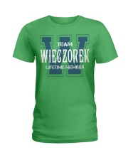 Team WIECZOREK - Lifetime Member Ladies T-Shirt thumbnail
