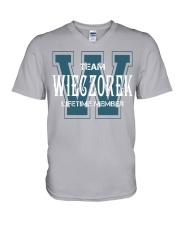 Team WIECZOREK - Lifetime Member V-Neck T-Shirt thumbnail