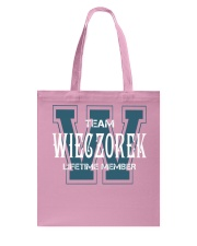 Team WIECZOREK - Lifetime Member Tote Bag tile