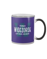 Team WIECZOREK - Lifetime Member Color Changing Mug thumbnail