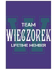 Team WIECZOREK - Lifetime Member Vertical Poster tile