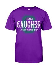Team GAUCHER - Lifetime Member Classic T-Shirt thumbnail