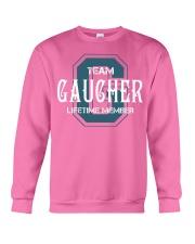 Team GAUCHER - Lifetime Member Crewneck Sweatshirt thumbnail