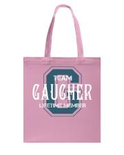 Team GAUCHER - Lifetime Member Tote Bag thumbnail