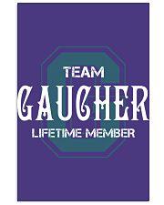 Team GAUCHER - Lifetime Member 11x17 Poster thumbnail