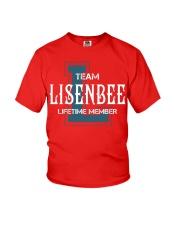 Team LISENBEE - Lifetime Member Youth T-Shirt thumbnail
