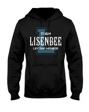 Team LISENBEE - Lifetime Member Hooded Sweatshirt front