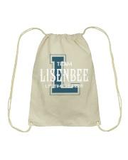 Team LISENBEE - Lifetime Member Drawstring Bag thumbnail