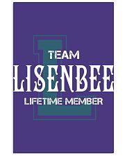 Team LISENBEE - Lifetime Member 11x17 Poster thumbnail