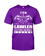 Team LAWLER Lifetime Member - Name Shirts Classic T-Shirt thumbnail