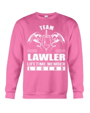 Team LAWLER Lifetime Member - Name Shirts Crewneck Sweatshirt thumbnail