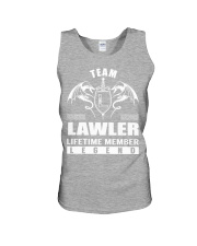 Team LAWLER Lifetime Member - Name Shirts Unisex Tank thumbnail