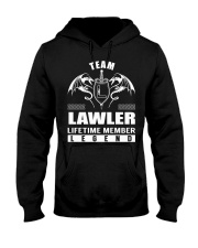 Team LAWLER Lifetime Member - Name Shirts Hooded Sweatshirt front