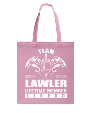 Team LAWLER Lifetime Member - Name Shirts Tote Bag thumbnail