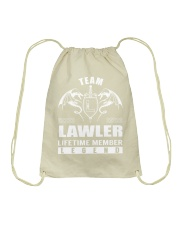 Team LAWLER Lifetime Member - Name Shirts Drawstring Bag thumbnail