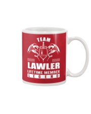 Team LAWLER Lifetime Member - Name Shirts Mug thumbnail